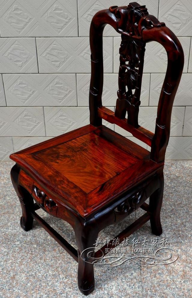 老挝材质 酸枝靠背椅子、老挝大红酸枝、红木椅子(75CM半成品)