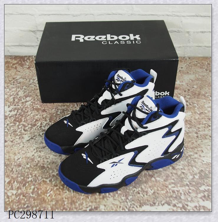 锐步Reebok 蜂窝气垫 男子90年代经典复刻款高帮篮球鞋 CN7902