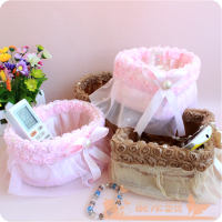 New Shipping Storage Basket Rose Storage Box Cosmetic Storage Basket Candy Basket Jewelry Box