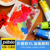 Beautiful Art 37 France Pebeo Bebiou Oil Paint XL Professional Picture Frame 200ML Oil Color Set Monochrome