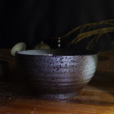 柴烧粗陶茶洗仿古 手工陶瓷水洗碗茶杯洗茶船 功夫茶具茶道零配件