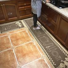 厨房地垫子吸水吸油长条地垫防油防滑耐脏家用地垫可机洗地毯脚垫