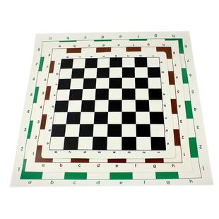 星球国际象棋盘小中大号PVC便携式软质可卷皮革跳棋盘经久耐用