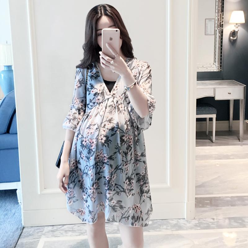 孕妇装秋季时尚款