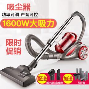 吸尘器家庭用手持式超静音滑轮强力除螨地毯大功率小型卧式吸尘机