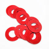 Insulating washer / gasket Red steel paper Fast bus red meson M2 M2.5 M3