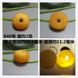 Natural old beeswax safety buckle handed down chicken oil yellow antique small cakes cakes pier pendants 1-3 grams
