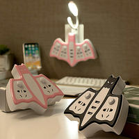 Multi-function creative socket a turn porous plug-in wireless row plug with table lamp USB home converter plug