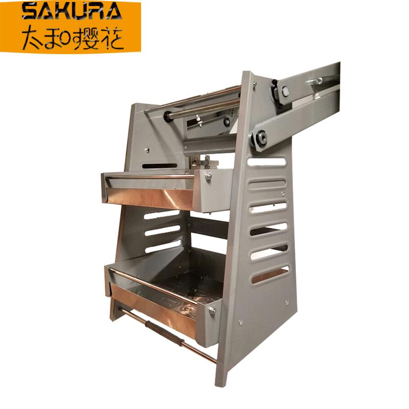加厚升降拉篮收纳得吊柜升降拉篮厨房橱柜不锈钢升降机橱柜下拉篮