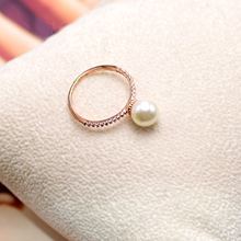 伊泰莲娜奢华欧美珠光宝气派对珍珠夸张时尚大牌戒指女饰品直径18
