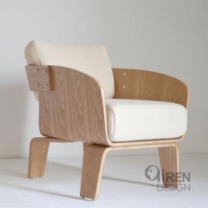 水曲柳沙发椅