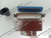 57 series printer interface 50p 50 core 30500 slot connector wire bonding type male head large steel shell