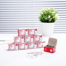 得力 别针扣针曲别针回型针办公文具用品10盒约1000枚 回形针