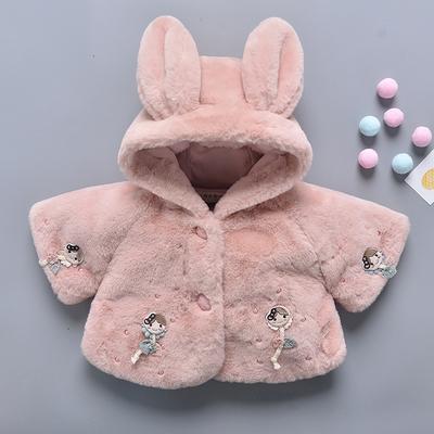 宝宝棉袄女0一周岁半1-2加厚小婴幼儿棉衣秋冬装儿童棉服冬季外套