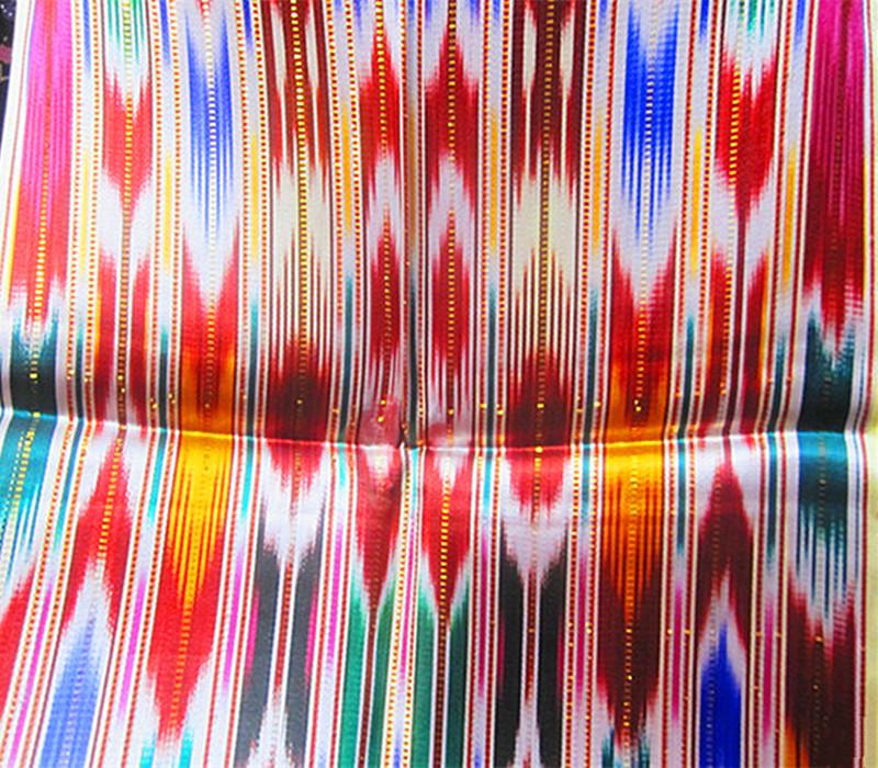 新疆特色维吾尔族丝幅宽40cm艾德莱斯绸布料6米5按一件算