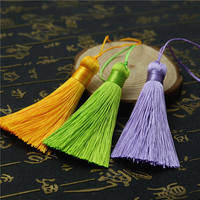 New 8cm short fat models small tassels diy handmade jewelry material bag ornaments antiques bookmarks earrings hanging ears