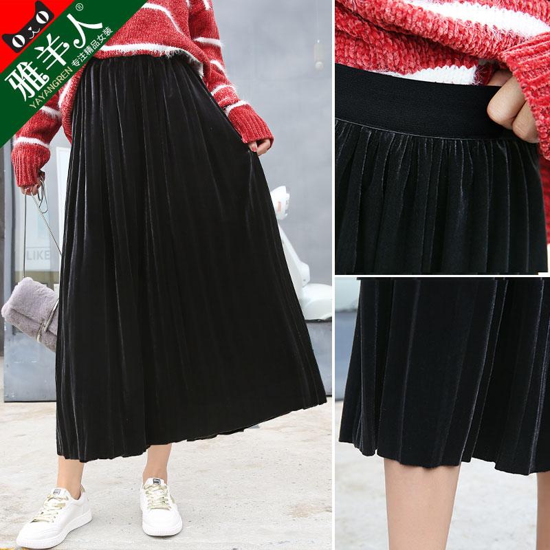 韩版冬季女裙