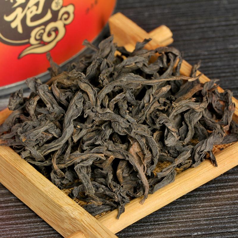 武夷山浓香大红袍茶叶岩茶中秋送礼茶乌龙茶碳焙礼盒装买1罐送3罐