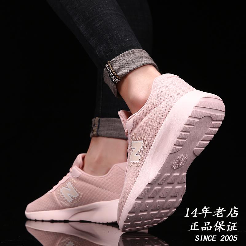 新百伦全网面透气跑步鞋夏季网鞋男鞋300小白鞋女鞋粉色运动鞋潮