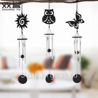 Elf mini aluminum rod wind chime girls holiday gift room small fresh creative ornaments bedroom decoration wind chimes