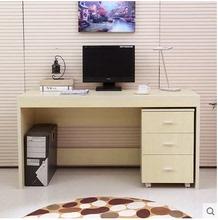 特价简约台式电脑桌加长家用写字台办公桌子书桌书架书柜抽屉组合