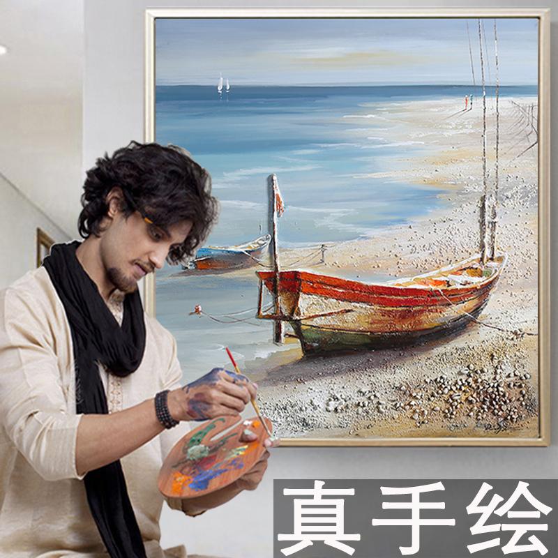 走廊挂画现代风景