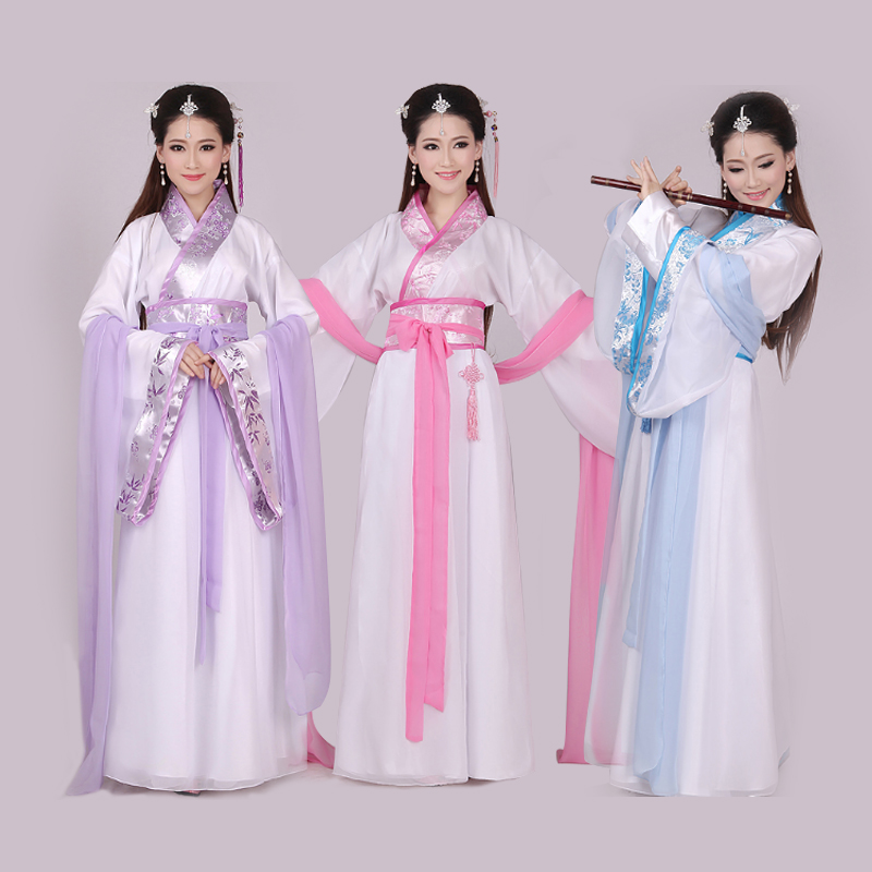 Costume costumes fresh and elegant fairy clothes cosplay costume Tang suits