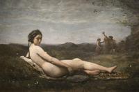 世界名画柯罗油画临摹设计素材装饰画素材共有7张 1.29G
