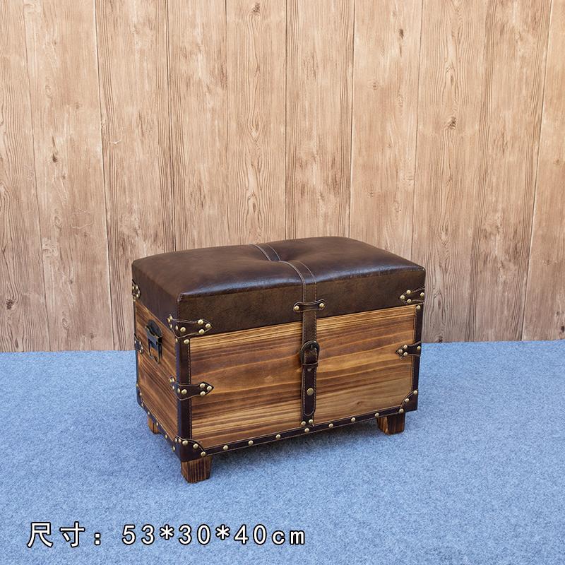 英伦风复古怀旧试鞋凳子收纳凳储物凳坐凳换鞋凳长条沙发凳特价