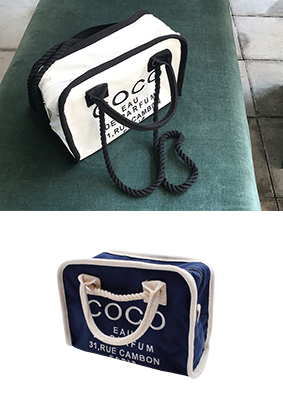 字母包coco手提包
