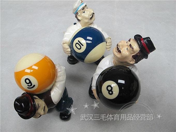 台球饰品 台球球托 礼品 台球摆件 工艺品 台球比赛奖品 1个价