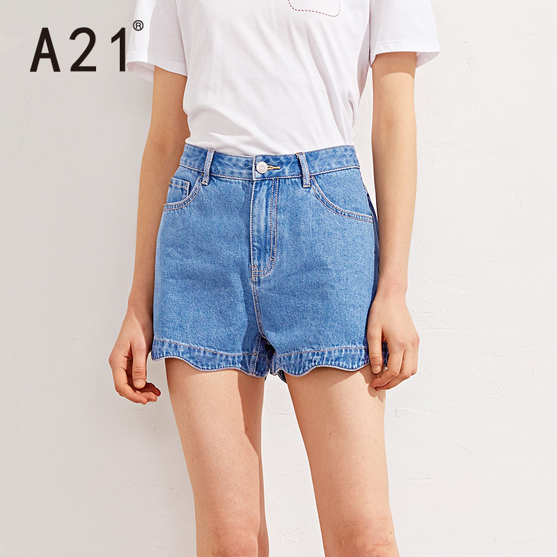 休闲牛仔短裤女款