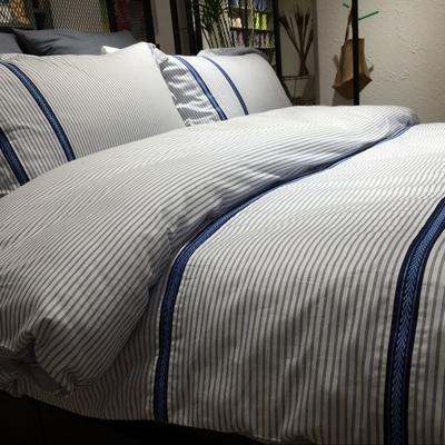 床单被套男士条纹性价比高吗