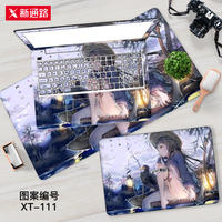 Computer stickers 15.6-inch Asus Flying Fortress 6 generation FX86F shell film 5 generations FX80G Dell G3 millet Shenzhou protection film set 14 Lenovo saver y7000 notebook film