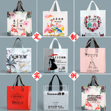 Vertical handbag packaging clothing store plastic bag ordered logo clothing store bag gift bag bag shopping bag