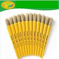 美国绘儿乐crayola幼儿颜料用大画笔/画刷子/05-0208 单支