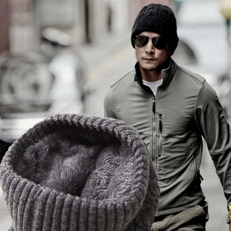 针织帽羊毛毛线帽男