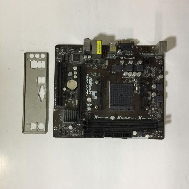 二手FM2+全固态华擎FM2A58M-VG3+ 支持 860K 7650K 760K 5600K