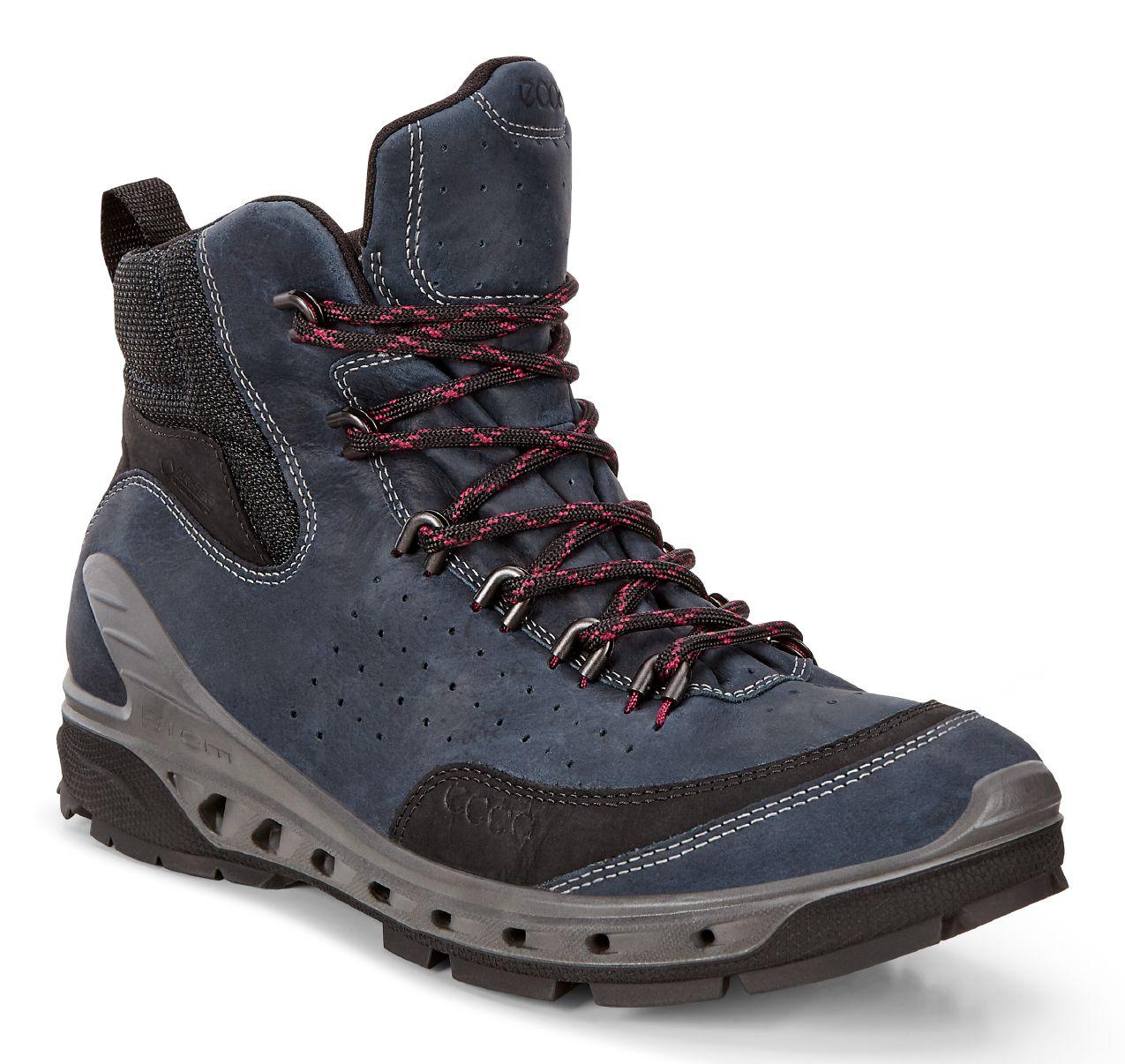 爱步ECCO女鞋854603牦牛皮透气防水防滑保暖户外休闲短靴子BIOM