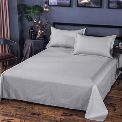 纯色单子床单单件被单2*2.3米纯棉的榻榻米1.8m双人床加厚2.0m床