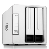 TERRAMASTER Tiewei F2-210 home nas storage network storage server cloud storage private cloud 2 disk