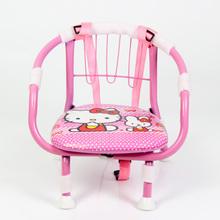 儿童小铁椅 宝宝靠背椅儿童叫叫椅叫叫凳子卡通吃饭椅 包邮 多区