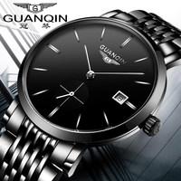 手表男士钢带黑色