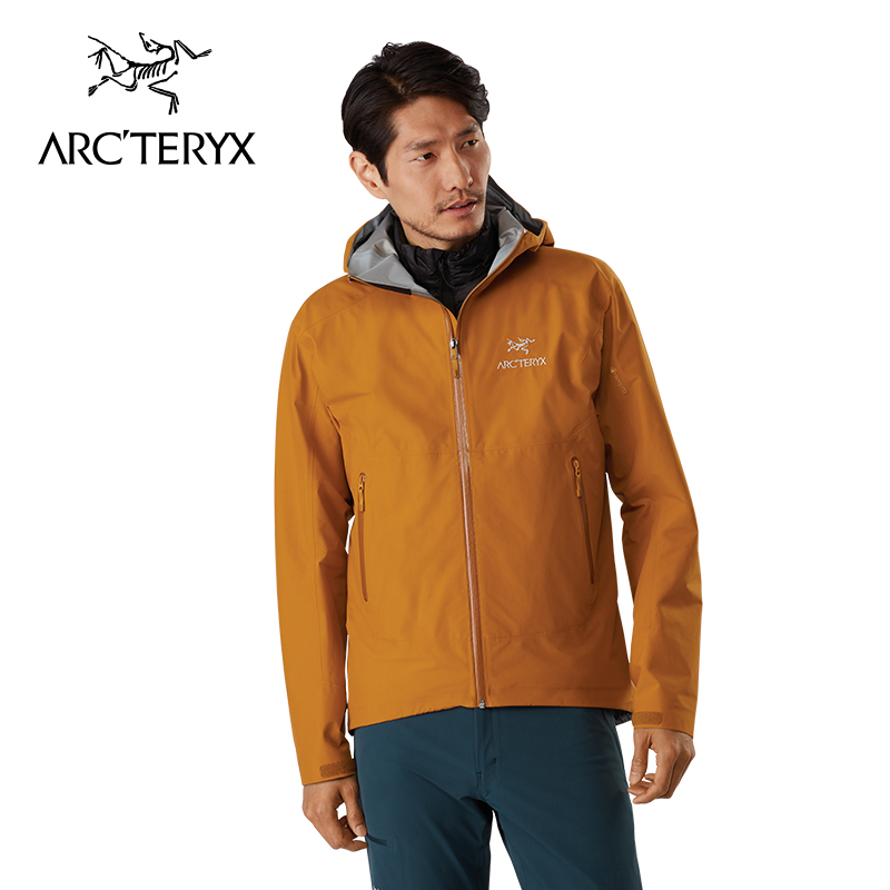 Arcteryx 始祖鸟男款轻量防水透气徒步冲锋衣户外硬壳男装Zeta SL