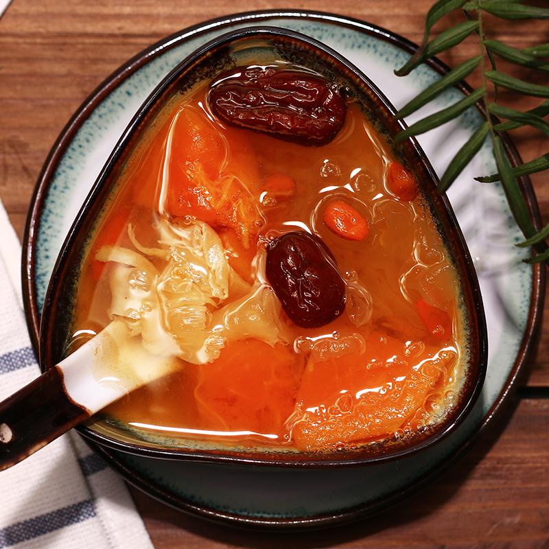 花胶雪耳红枣羹 花胶糖水 补充胶原蛋白 女人 月子餐甜汤材料