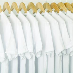 白色t恤男士短袖夏季纯?#35013;?#34966;圆领体恤潮流印花唇印纯棉打底衫