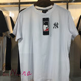 MLB short sleeve Yankees spring and summer men Yankees NY round neck letter embroidery casual sports T-shirt 20100