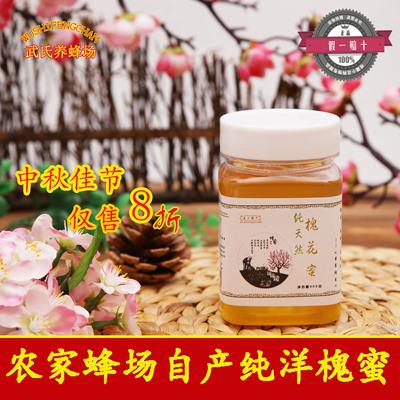 土蜂蜜Honey洋槐蜜老蜂农蜂场自产原蜜野生槐花蜜500g蜂巢蜜孕妇