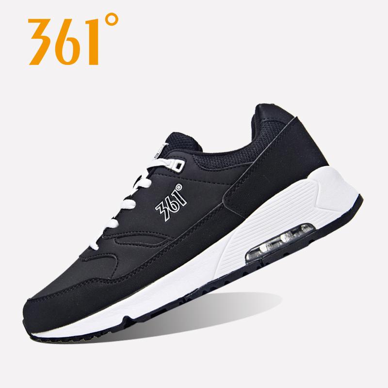 361度女鞋运动鞋秋季新款防滑跑步鞋复古慢跑鞋361减震保暖气垫鞋