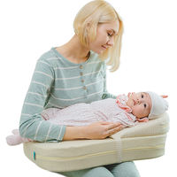 Feeding artifact breastfeeding pillow baby feeding pillow sitting on the moon holding baby waist anti-spitting milk pad baby feeding breast pillow